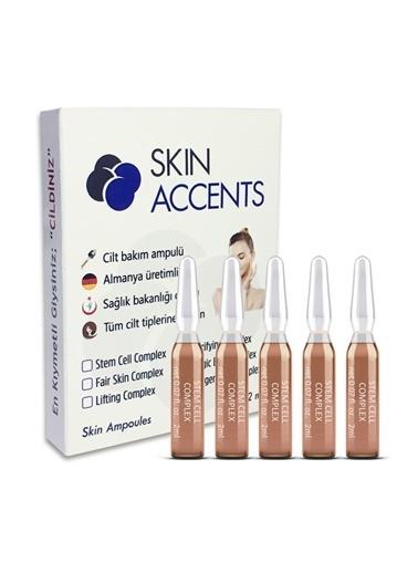 Skin Accents Skin Accents Kök Hücre Yenileyici Ampul - Stem Cell Complex  1 Ampul Renksiz
